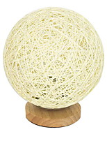 cheap -Contemporary Decorative Table Lamp For Living Room Wood/Bamboo Blue White Dark Yellow Pink Lemon