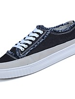 cheap -Shoes PU Spring Fall Comfort Sneakers for Casual Black Green Blue