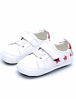 cheap -Girls' Boys' Shoes Leather Spring Fall First Walkers Comfort Loafers & Slip-Ons for Casual Gold White Silver Blue