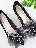 Недорогие -Для женщин Обувь Нубук Весна Осень Удобная обувь Обувь на каблуках На шпильке для Повседневные Черный Розовый