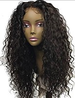 cheap -Glueless Brazilian Lace Front Human Hair Wig With Baby Hair Curly Human Hair Lace Wig Pre Plucked