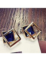 cheap -Women's Stud Earrings Lovely Fashion Crystal Alloy Cubic Jewelry Party Daily