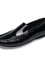 cheap -Men's Shoes Leatherette Spring Fall Driving Shoes Loafers & Slip-Ons for Casual White Black Blue Wine