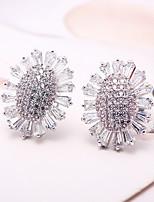 cheap -Women's Stud Earrings Rhinestone Crystal Rhinestone Jewelry Wedding Party Costume Jewelry