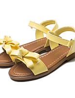Недорогие -Девочки обувь Полиуретан Весна Лето Детская праздничная обувь Оригинальная обувь Сандалии Бант На липучках для Для вечеринки / ужина Для