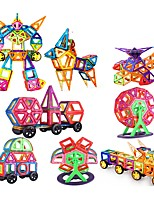 cheap -Magnetic Blocks 200 pcs Parent-Child Interaction Transformable Toy Truck Plane Square Circular Car Children's Gift