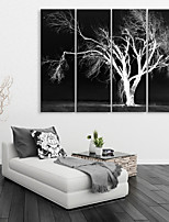 cheap -Canvas Print Rustic Modern,Four Panels Canvas Vertical Print Wall Decor Home Decoration