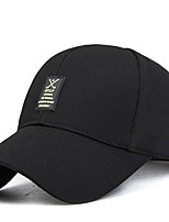 cheap -Men's Casual Cotton Baseball Cap - Solid Printing, Printing