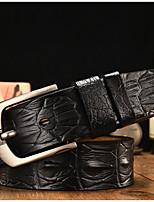 cheap -Genuine Leather Waist Belt,Black Orange Light Brown Casual