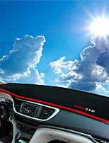 Недорогие -автомобильный Маска для приборной панели Коврики на приборную панель Назначение Buick 2015 2016 2017 Excelle