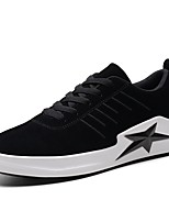 cheap -Shoes Pigskin Spring Fall Comfort Sneakers for Casual Outdoor Black Gray Khaki