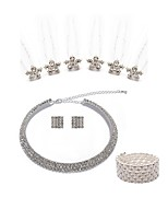 cheap -Women's Hair Sticks Bridal Jewelry Sets Rhinestone Fashion European Wedding Party Imitation Pearl Imitation Diamond Alloy Geometric Body