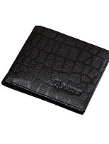 cheap -Men's Bags Cowhide Wallet Pocket for Shopping Casual All Seasons Coffee