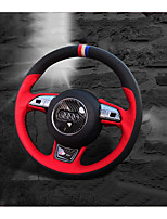 cheap -Automotive Steering Wheel Covers(Leather)For Audi All years A1 Q5 Q7 Q3 A3 A4L A6L