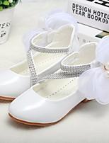 Недорогие -Девочки обувь Лакированная кожа Весна Осень Удобная обувь Детская праздничная обувь Крошечные Каблуки для подростков Обувь на каблуках для