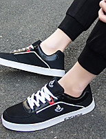 cheap -Men's Shoes Tulle Spring Fall Comfort Sneakers for Casual Blue Red Black