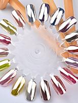 economico -1pc effetto specchio glitter per unghie scintillio / lustro polvere nail glitter glitter polvere nail art design