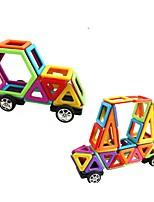 Недорогие -Магнитный конструктор 108 pcs Взаимодействие родителей и детей Игрушки Грузовик Строительная техника Круглый Квадратный Автомобиль Детские