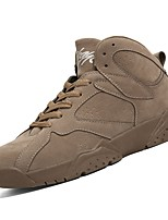 cheap -Shoes Pigskin Spring Fall Comfort Sneakers Running Shoes for Athletic Black Gray Brown
