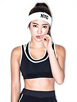 cheap -Women's Light Support Sports Bras Fast Dry Stretchy Sports Bra for Running/Jogging Cotton Nylon Black L M S XS