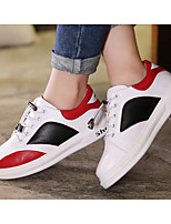 cheap -Boys' Shoes Synthetic Microfiber PU Spring Fall Comfort Sneakers for Casual Red Black White