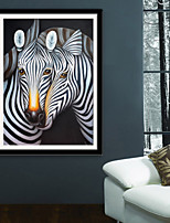 cheap -Animal Fantasy Illustration Wall Art,PVC Material With Frame For Home Decoration Frame Art Living Room Kitchen Dining Room Bedroom Office