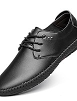 cheap -Men's Shoes Nubuck leather Spring Summer Formal Shoes Loafers & Slip-Ons for Wedding Office & Career Black Brown