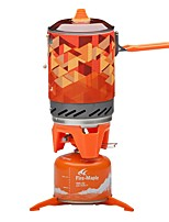 cheap -Camping Stove Camping Burner Stove Outdoor Cookware Heat Insulated Stainless Steel for Camping