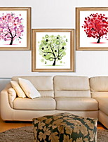 cheap -Botanical Illustration Wall Art,Aluminum Alloy Material With Frame For Home Decoration Frame Art Indoors