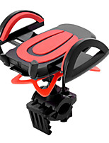 cheap -Bike Mobile Phone mount stand holder Adjustable Stand Universal Buckle Type Slip Resistant ABS Holder
