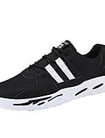 economico -Per uomo Scarpe PU (Poliuretano) Tulle Di pelle Primavera Autunno Suole leggere Comoda Sneakers Footing per Casual Grigio Verde