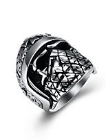 Недорогие -Муж. Массивные кольца , металлический Готика Крупногабаритные Нержавеющая сталь , Бижутерия Новый год Для клуба