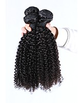 cheap -Brazilian Kinky Curly Human Hair Weaves 3 Pieces 0.3