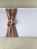 cheap -Satin Romance Fantacy WeddingWithBowknot 1 Package Box Guest Book