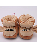 cheap -Baby Shoes Cotton Spring Fall Comfort First Walkers Boots for Casual Pink Green Brown Yellow