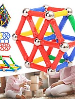 cheap -Magnetic Sticks Magnetic Blocks 103 pcs Parent-Child Interaction Transformable Cylindrical Children's Gift