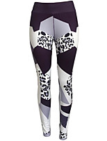 cheap -Women's Stylish Polyester Medium Stitching Legging,Print Gray