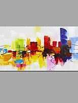 cheap -Hand-Painted Abstract Still Life Horizontal, Modern Canvas Oil Painting Home Decoration One Panel