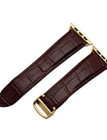 cheap -Watch Band for Apple Watch Series 2 Apple Watch Series 1 Apple Wrist Strap Classic Buckle Genuine Leather