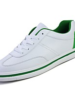 cheap -Men's Shoes PU Spring Fall Comfort Sneakers for Casual White/Green Black/White Red