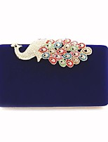 cheap -Women's Bags Velvet Clutch Appliques for Event/Party Formal All Seasons Royal Blue Red Black