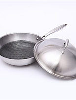 cheap -Stainless steel Stainless Steel Round Pan Frying Pans & Skillets,54*32*9