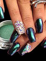preiswerte -1pc Luxus Glanz Spiegeleffekt Nagel Glitter Glitzerpulver Puder Nagel-Kunst-Tipps Nagel-Kunst-Design