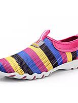 Недорогие -Муж. обувь Дышащая сетка Тюль Весна Лето Удобная обувь Мокасины и Свитер для Повседневные Серый Лиловый Пурпурный