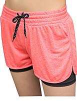 cheap -Women's Running Shorts Fast Dry Breathability Shorts Running/Jogging Walking Dancing Polyester Loose Pink Green Fuchsia Purple XL L M S