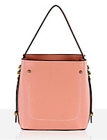 cheap -Women Bags Cowhide Nylon Tote Zipper for Casual All Season Light Grey Blushing Pink Red