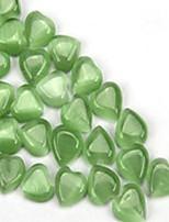 Недорогие -Ювелирные изделия DIY 10 штук Бусины Лиловый Бледно-розовый цвет Зеленый Синий Светло-синий Сердце Резина Шарик 0.8 см DIY Браслеты