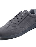 cheap -Men's Shoes Rubber Spring Fall Comfort Sneakers for Outdoor Gray Black White