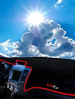 cheap -Automotive Dashboard Mat Car Interior Mats For Kia All years K3