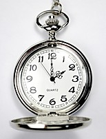 Недорогие -Детские Для пары Карманные часы Повседневные часы Часы со скелетом Китайский Кварцевый С гравировкой Повседневные часы сплав Группа